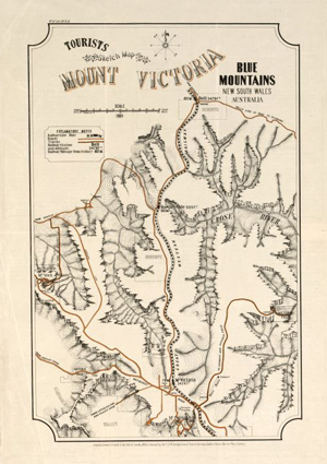1909 Map of Mt Victoria